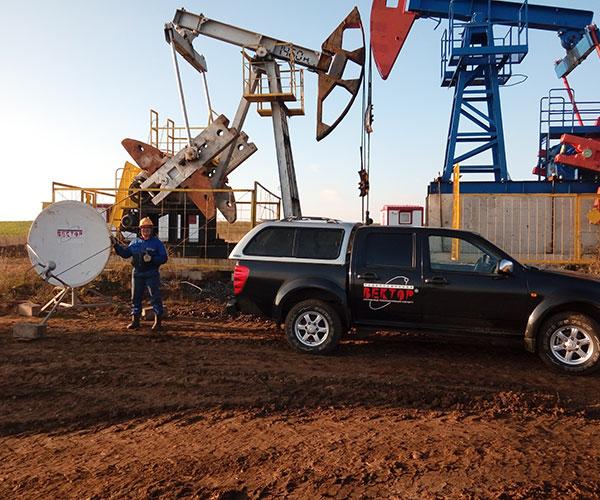 Спутниковая связь для нефтяников